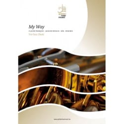 Comme d'Habitude / My Way - Sax Choir laflutedepan
