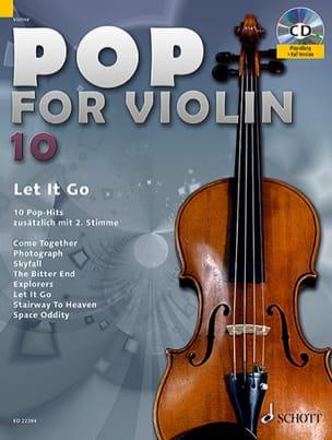 Pop for Violin Volume 10 - Let It Go Partition Violon - laflutedepan