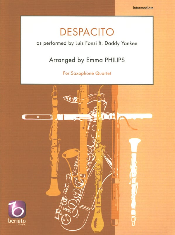 Despacito - Quatuor de Saxophones - laflutedepan.com