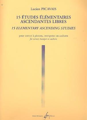 15 Etudes Elémentaires Ascendantes Libres Lucien Picavais laflutedepan