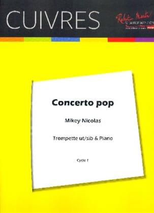 Concerto Pop Mickey Nicolas Partition Trompette - laflutedepan