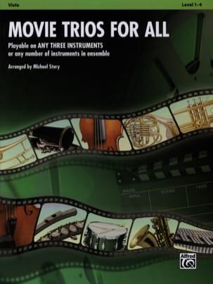 Movie trios for all Partition Alto - laflutedepan