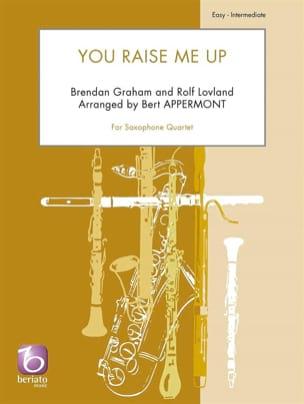You Raise Me Up - Quatuor de Saxophones Partition laflutedepan