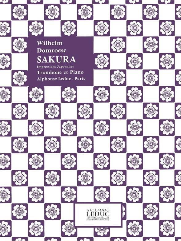 Sakura - Wilhelm Domroese - Partition - Trombone - laflutedepan.com