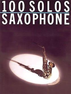 100 Solos Saxophone Partition Saxophone - laflutedepan