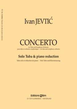Concerto Ivan Jevtic Partition Tuba - laflutedepan