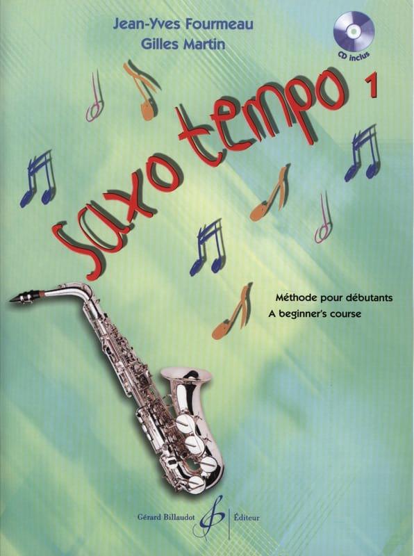 Saxo Tempo Volume 1 - Partition - Saxophone - laflutedepan.com
