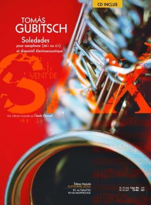 Soledades Tomas Gubitsch Partition Saxophone - laflutedepan