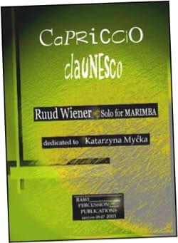 Capriccio claunesco dédié à Katarzyna Mycka Ruud Wiener laflutedepan