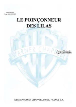 Poinçonneur Le Des Lilas Serge Gainsbourg Partition laflutedepan