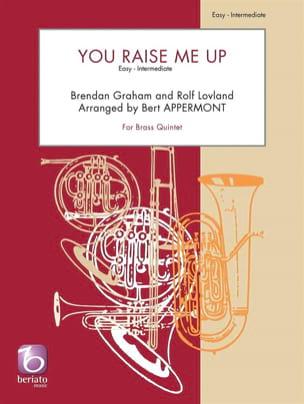 You Raise Me Up - Quintette de Cuivres Partition laflutedepan
