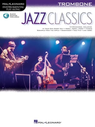 Jazz Classics Partition Trombone - laflutedepan