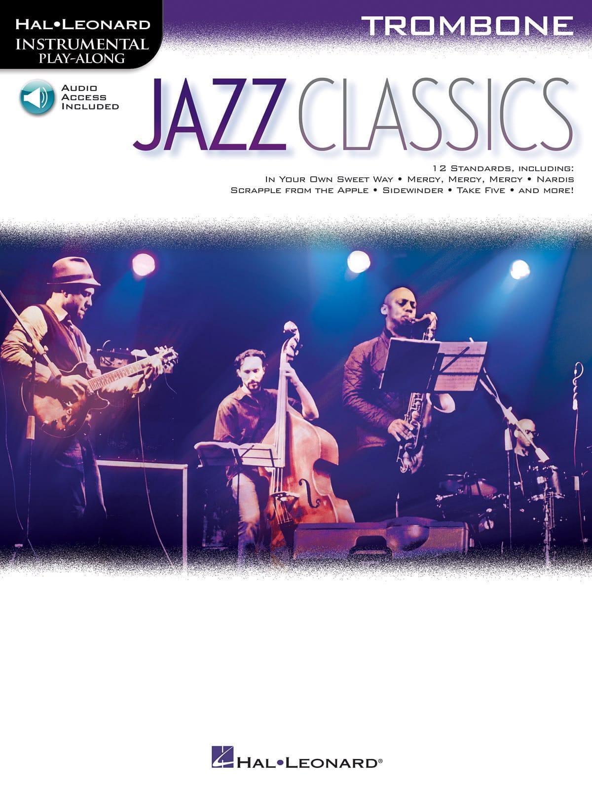 Jazz Classics - Partition - Trombone - laflutedepan.com