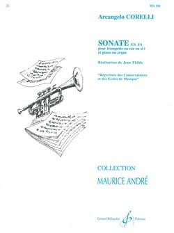 Sonate En Fa CORELLI Partition Trompette - laflutedepan
