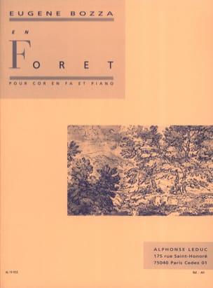 En Forêt Eugène Bozza Partition Cor - laflutedepan