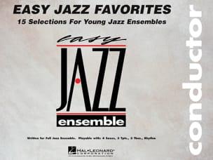 Easy Jazz Favorites - Conducteur Partition ENSEMBLES - laflutedepan