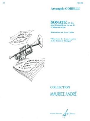 Sonate En Fa - CORELLI - Partition - Trompette - laflutedepan.com