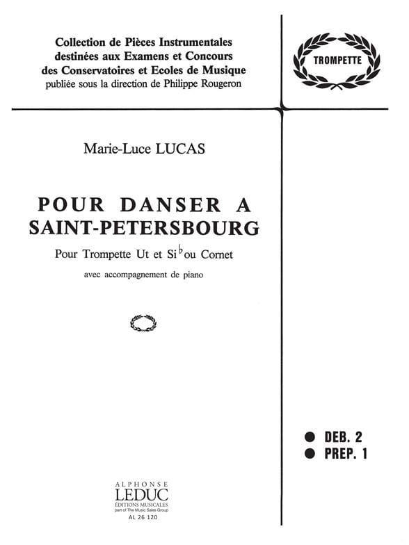 Pour Danser A Saint-Petersbourg - Marie-Luce Lucas - laflutedepan.com