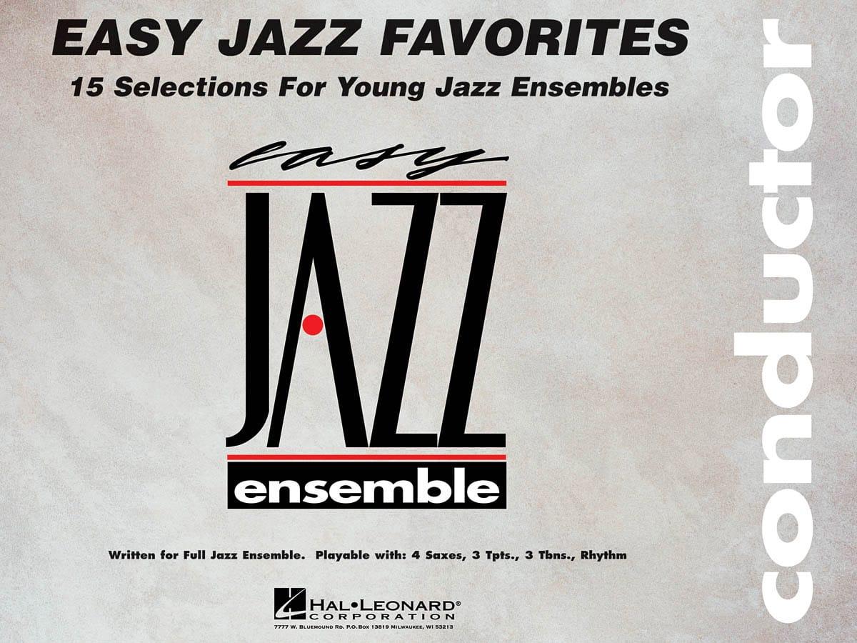 Easy Jazz Favorites - Conducteur - Partition - laflutedepan.com