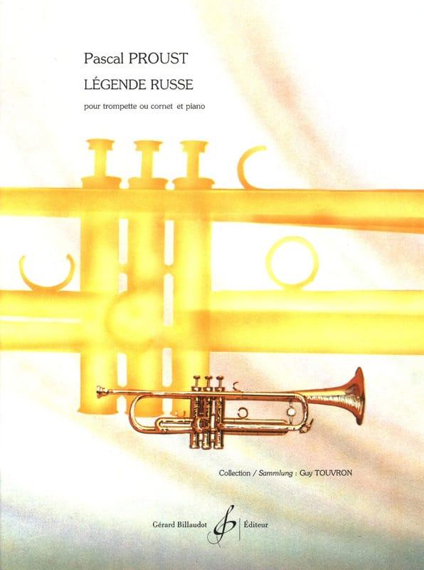 Légende Russe - Pascal Proust - Partition - laflutedepan.com