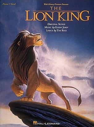 Le Roi Lion Elton John Partition Musique de film - laflutedepan