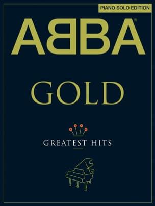 ABBA - Abba Gold - Greatest Hits - Piano Solo Edition - Partition - di-arezzo.co.uk