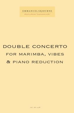 Double Concerto reduc piano - Emmanuel Séjourné - laflutedepan.com