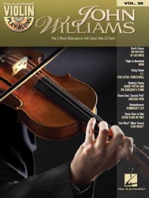 Violin play-along volume 38 - John Williams - laflutedepan.com