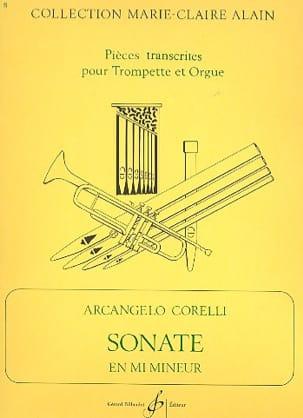 Sonate En Mi Mineur CORELLI Partition Trompette - laflutedepan