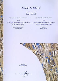 La Folia Marin Marais Partition Tuba - laflutedepan