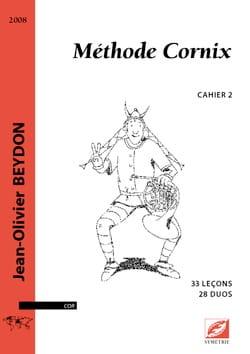 Méthode Cornix Volume 2 Jean-Olivier Beydon Partition laflutedepan