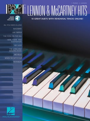 Piano Duet Play-Along Volume 39 - Lennon & McCartney hits laflutedepan