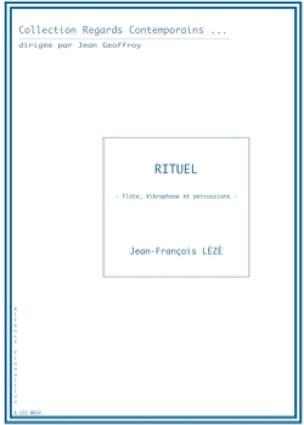 Rituel - Jean-François Lézé - Partition - laflutedepan.com