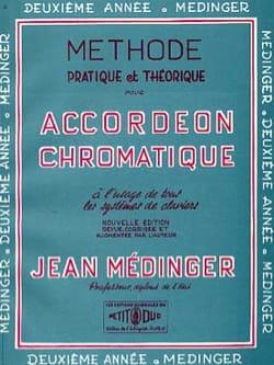 Méthode pratique et théorique - 2e Année Jean Médinger laflutedepan