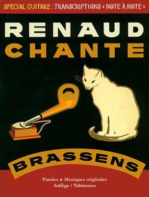 Renaud Chante Brassens RENAUD Partition laflutedepan