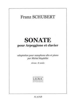 SCHUBERT - Sonate Pour Arpeggione Et Clavier - Partition - di-arezzo.fr