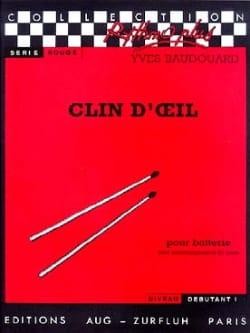 Clin D' Oeil Yves Baudouard Partition Batterie - laflutedepan
