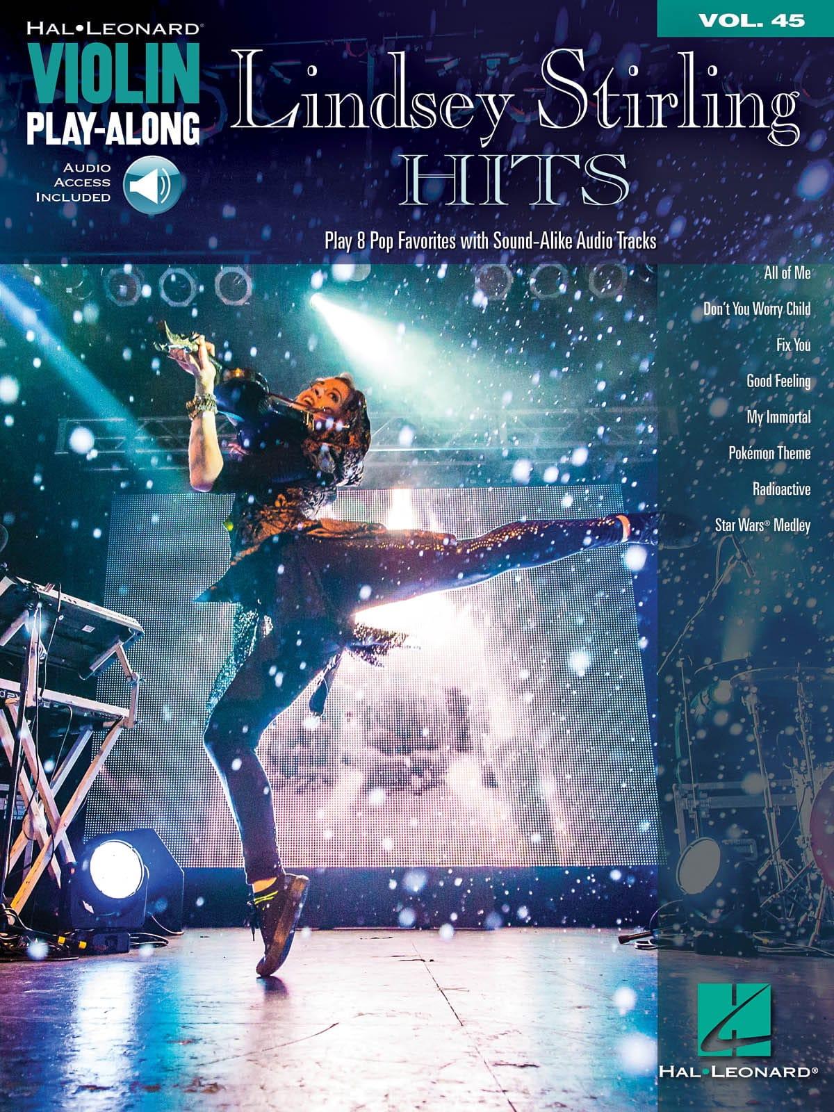 Violin Play-Along volume 45 Lindsey Stirling hits - laflutedepan.com