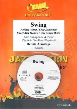 Swing - Dennis Armitage - Partition - Saxophone - laflutedepan.com