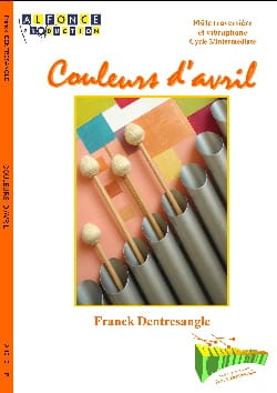 Couleurs D' Avril Franck Dentresangle Partition laflutedepan