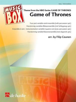 Game of Thrones - Music Box Ramin Djawadi Partition laflutedepan