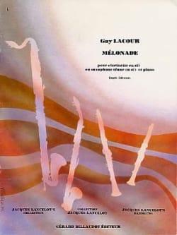 Mélonade Guy Lacour Partition Saxophone - laflutedepan