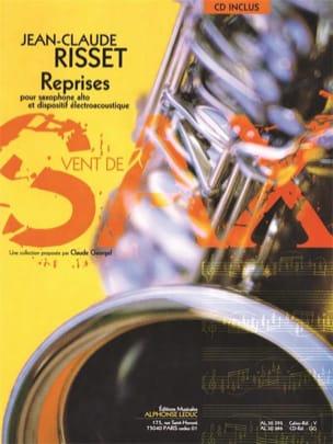 Reprises Jean-Claude Risset Partition Saxophone - laflutedepan