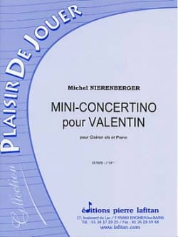 Mini-Concertino Pour Valentin Michel Nierenberger laflutedepan