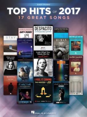 Top Hits of 2017 - Easy Piano - Partition - laflutedepan.com