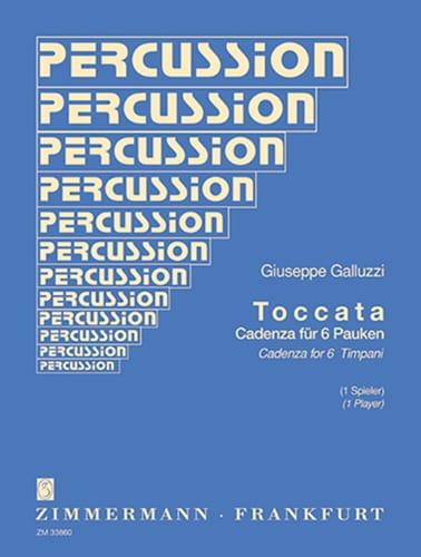 Toccata - Giuseppe Galluzzi - Partition - Timbales - laflutedepan.com