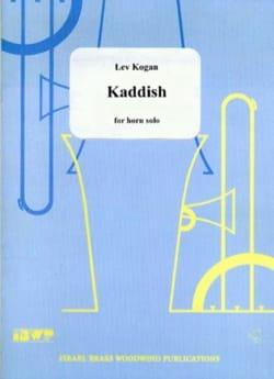 Kaddish Lev Kogan Partition Cor - laflutedepan