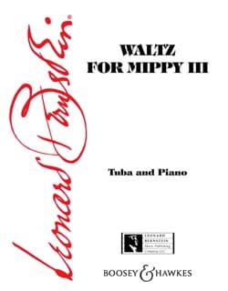 Waltz For Mippy 3 - BERNSTEIN - Partition - Tuba - laflutedepan.com