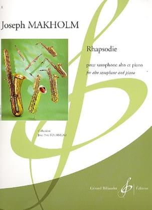 Rhapsodie Joseph Makholm Partition Saxophone - laflutedepan