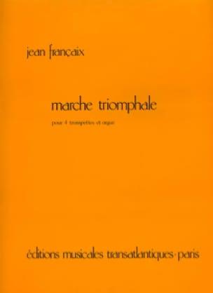 Marche Triomphale - FRANÇAIX - Partition - laflutedepan.com